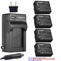 Kastar Battery Travel Charger for Panasonic DMW-BLC12 Panasonic Lumix DMC-FZ1000