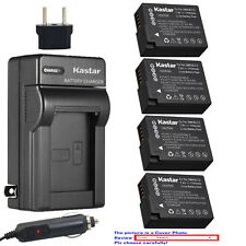Kastar Battery Travel Charger for Panasonic DMW-BLC12 & Panasonic Lumix DMC-G7