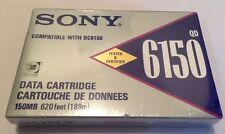 SONY QD6150N DATA CARTRIDGE 150MB 189M (620FT) BRAND NEW SEALED