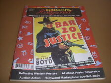 COLLECTING HOLLYWOOD #5, Spring, 1994, WESTERN POSTERS, POSTER RESTORATION