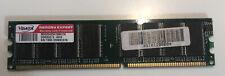 VDATA 1GB VDNDB1A16 PC2700 333MHz 184-Pin DDR1 Desktop PC Memory 1GX16