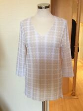 Aldo Martins Top Size 14 BNWT Cream And Beige RRP £134 Now £60