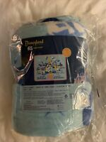 "Disneyland 65th Anniversary Funko Fleece Throw Blanket Factory Sealed NEW 48x60"""