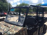 POLARIS RANGER 570 2 SEAT MIDSIZE 1/4 POLYCARBONATE HALF WINDSHIELD 2015-2020