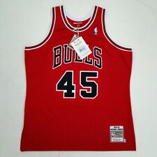 100% Authentic Michael Jordan Mitchell Ness 94 95 Bulls Jersey Size 48 XL