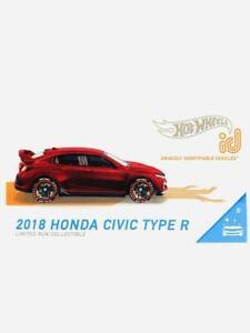 HOT WHEELS ID 2021 CASE B 2018 HONDA CIVIC TYPE R - NEW HARD TO FIND