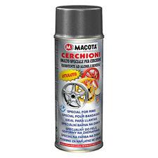 Macota Vernice Spray CERCHIONI 400ml antigraffio metallizzato cerchi auto moto