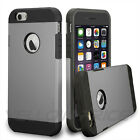 iPhone 5S 5 Case, Ultra Slim Hybrid Hard Soft ARMOUR Cover+9H REAL Glass Screen