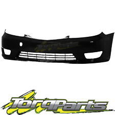 FRONT BAR COVER BLACK SUIT TOYOTA CAMRY CV36 04-06 SERIES 2 BUMPER