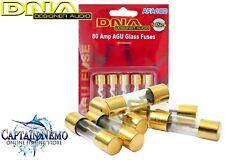 DNA AFA180 80 Amp AGU Gold Fuses - 1 Pack for 5