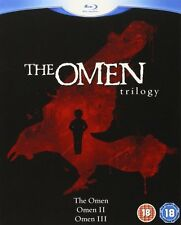 The Omen Trilogy 1 2 3 (Blu-ray, 3 Discs, Region Free) *BRAND NEW/SEALED*