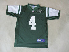 2f5e92656fd8 Reebok Brett Favre New York Jets Football Jersey Youth Large Green NFL Kids  Boys