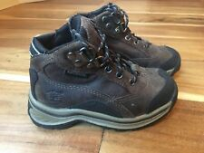 Toddler Boys Timberland Boots Size 7 Brown Leather Waterproof