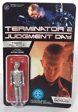 Terminator 2 figura de acción exclusiva de reacción T-1000 formulario de metal de batalla final