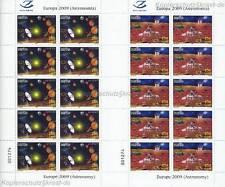 Europa cept 2009 astronomía-albania Herzegowina 3316-17 Klein arco **