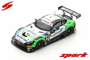 1:43 2020 Bathurst 12 Hour 5th Place -- #77 Mercedes-Benz AMG GT3 -- Spark Model