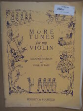MORE TUNES FOR MY VIOLIN murray & tate , vn1 , vn2 , pf