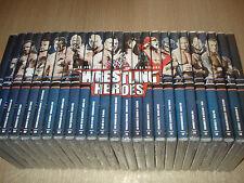 OPERA COMPLETA 25 DVD WRESTLING HEROES LE PIU' GRANDI STAR DI SEMPRE HOGAN  CENA