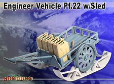 "Dragon Cyber Hobby 1/6 scale 12"" WWII German Engineer Wagon Vehicle , Sled 71392"
