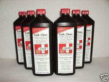 6 X 1 Li. SHB Swiss Kalk Clean Premium Entkalker für alle Modele geeignet Senseo