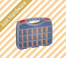 21 Compartment Storage Organiser Plastic Tool Box Toolbox Case Organizer Bin