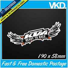 KTM Sticker/ Decal - MOTOCROSS UTE AUS MX Bike Dirt Racing Monster LKI Vinyl 4x4