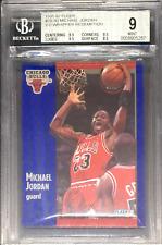 BGS 9 w/9.5 MICHAEL JORDAN 1991-92 Fleer 3D Acrylic Wrapper Redemption #29 MINT