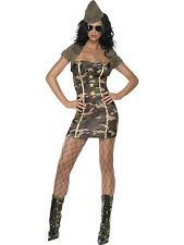 Miss Major Trouble Costume Womens Army Military Cosplay Fancy Dress