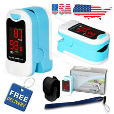 Fingertip Pulse Oximeter Blood Oxygen Meter SPO2 O2 Monitor Pulse Rate Sensor