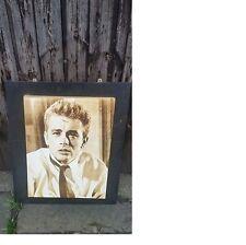 James Dean Portrait in Good Conditon, Framed, Same Day Dispatch