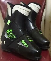 NORDICA N517 310 mm Men's Ski Boots Black Made In Italy Solid Condition!!