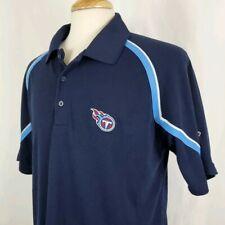 Reebok Tennessee Titans Play Dry Polo Golf Shirt Mens Medium NFL Team Apparel