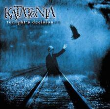 KATATONIA Tonight's Decision - 2LP / Black Vinyl + Bonus Tracks