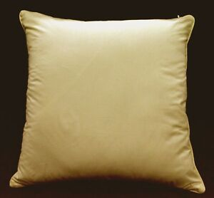 Rc405a Ivory Soft 100% Pure Cotton Fabric Cushion Cover/Pillow Case*Custom Size*