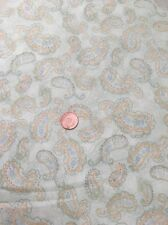 100% Cotton Quilting Craft Fabric Perfectly Paisley Wilmington Prints