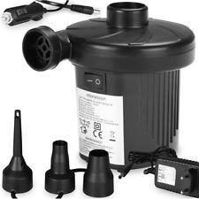 Pompe à air électrique 50W 12V ou 230V - Gonfleur dégonfleur rapide multi usage