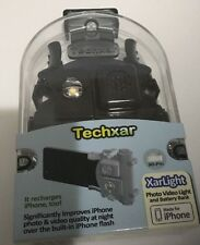 Techxar TX1 Photo Video Light and Battery Charger for iPhone 3/3GS/4/4S #TX1-A1