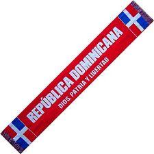 BUFANDA LA REPÚBLICA DOMINICANA scarf no España bandera camiseta banderin gorra