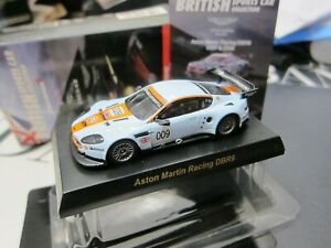 Kyosho - British - Aston Martin Racing DBR9 009 - Scale 1/64 Mini Car C9