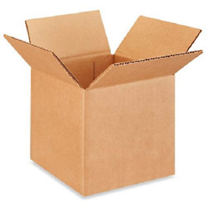 100 6x6x6 Cardboard Paper Boxes Mailing Packing Shipping Box Corrugated Carton