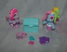 MLP Ponyville Mermaid Set - Rainbow Dash, Starsong - Chest, Treasure