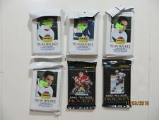 Lot of 6 Sealed Packs of 1990's Hockey Cards Pinnacle