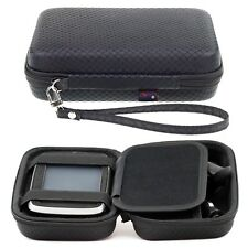 Black Hard Carry Case For TomTom XL CLASSIC WESTERN EUROPE Accessory Storage