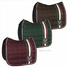 Eskadron HERITAGE Schabracke Big Square, merlot, brown, green
