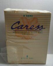 VTG 1995 Caress Moisturizing Body Bar With Bath Oil Original Peach 2 Soap Bars