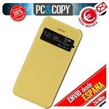 FUNDA LIBRO TAPA DURA CON VENTANA IPHONE 4 4S FLIP COVER BOOK CASE COLORES