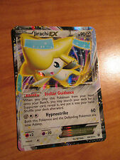 PL Pokemon JIRACHI EX Card PLASMA BLAST Set 60/101 Black and White BW Ultra Rare