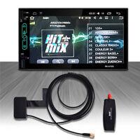 Auto USB DAB+ Digital Radio Tuner Empfänger Erweiterung Antenne Android Player