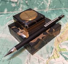 VINTAGE COLIBRI OF LONDON PROPELLING  PENCIL-MATTE BLACK-FREE UK POST!