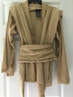 Disney World Star Wars Galaxy's Edge Jedi Robe Tan ~ Adult XS ~ Costume Cosplay